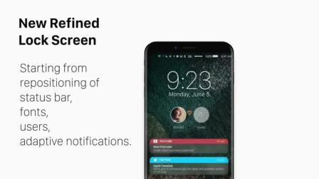 iOS X 概念渲染视频