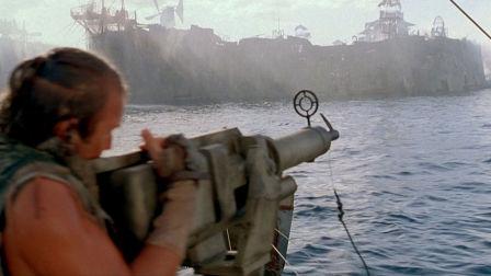 几分钟看完末日科幻电影《未来水世界》 地球变成汪洋大海 人类进化成鱼人