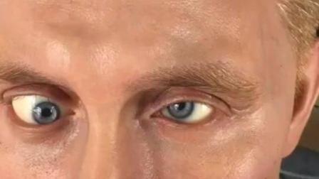 这尊普京蜡像非常不错, 不过让他本人看到眼睛会不会气疯