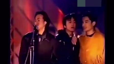香港群星合唱的《加州旅馆》, 当黄家驹的声音出来时就泪奔了