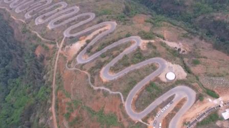 中国最险盘山公路, 秒秋名山公路凶险至极, 68道拐我不敢开