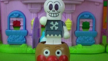 妈妈的玩具2 乐高积木 面包超人玩具 奇趣蛋玩具视频