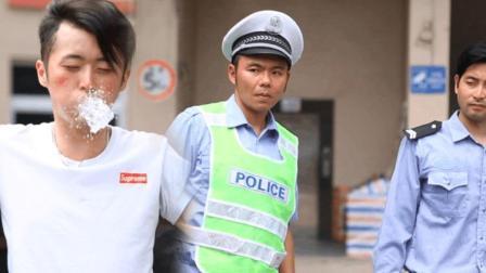 老司机酒驾遇上交警, 最后一句话让人跪服了!