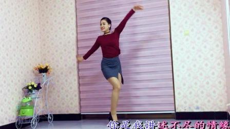 青青世界广场舞 韵律舞《爱的世界只有你》附背面花絮