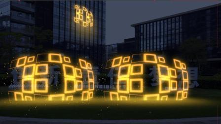 用图形做扭曲的光影动画, 在AE中也是一种尝试, 不妨一试