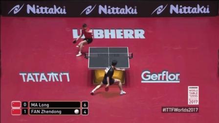 只有地狱级中国队能这样打乒乓, 世界第一VS第二, 我都看不到球