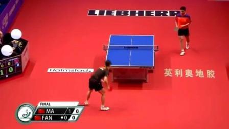 这就是中国乒乓球, 真实什么球都能救啊, 解说直接吓变声了
