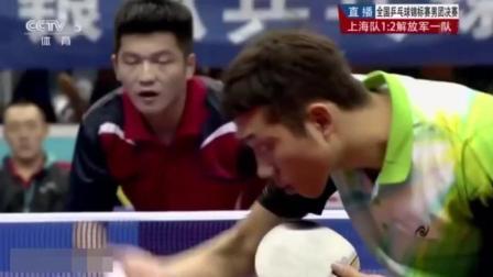 近视400度, 靠感觉活生生把球打成科幻片, 这就是中国乒乓