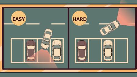 明明正向停车更容易 为啥科目二还要考倒车入库 50