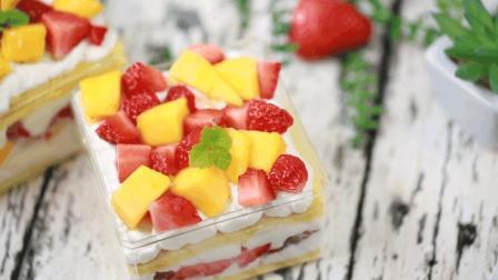 可可私厨 第一季 刷爆朋友圈的网红水果盒子蛋糕 好吃到停不下来 94