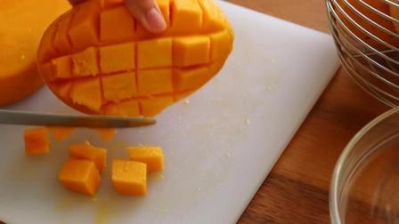 美味的芒果慕斯蛋糕制作原来这么简单, 一起来学学