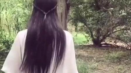 清新自拍, 公园偶遇仙子, 美丽大方的美女