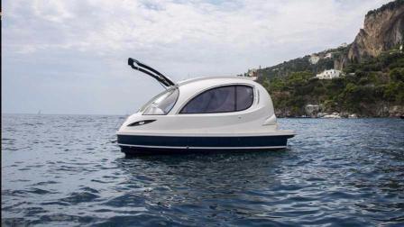 最酷土豪玩具, 超科幻游艇单价可买50台豪车, 开起来比跑车快!