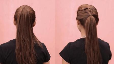 马尾辫怎么扎好看 适合学生的4种马尾辫的扎法