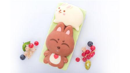 莫夫教室-儿童节伴手迷你吉兔蛋糕制作流程