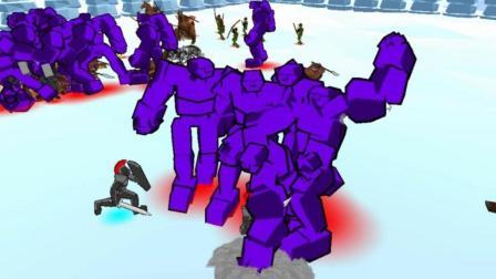 【逍遥小枫】双龙战术, 迎来最终大决战! | 全面战争模拟器3D#9