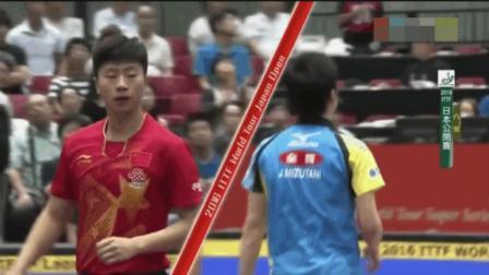 中国乒乓无敌了, 马龙把水谷隼算球算到崩溃, 日本主场鸦雀无声