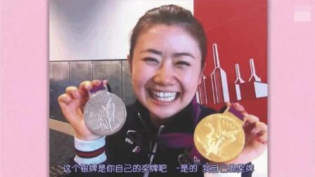 福原爱输球后, 默默找中国队借来金牌, 美美哒来了一波自拍