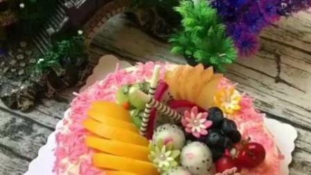 烘焙之水果味生日蛋糕的做法