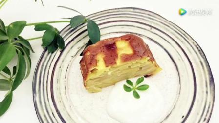 苹果千层蛋糕—无糖也可以好吃到爆