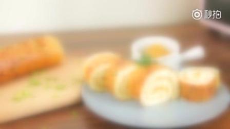 【香葱肉松蛋糕卷】每次去蛋糕房必买的就是这款肉松蛋糕卷, 蛋糕的软绵加上炼乳的香甜!
