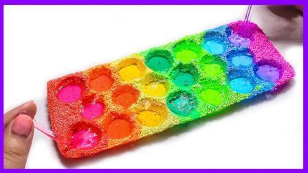 泡沫粘土小球模具玩具制作 243