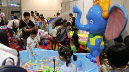 大象戏水钓鱼池