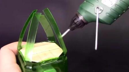 创意DIY, 废旧饮料瓶就可以制作的直升飞机, 值得一试!