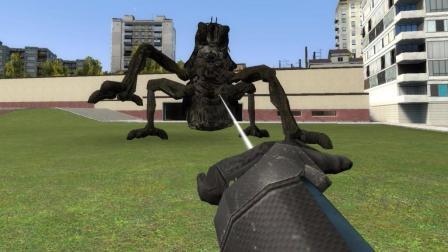 GMOD 被变异蜘蛛咬了后居然真的会变成蜘蛛侠