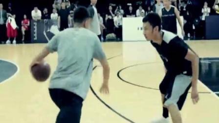 亚洲顶级后卫郭艾伦对战国内街球手, 这就是业余和专业的差距
