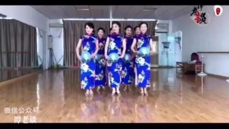 旗袍美人的舞蹈, 没想到这么美, 这是哪个老师教的啊