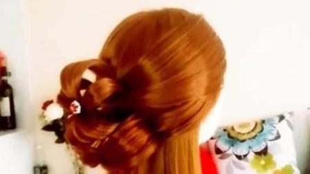 花朵编发视频教程! 简单时尚美发造型一步一步教!