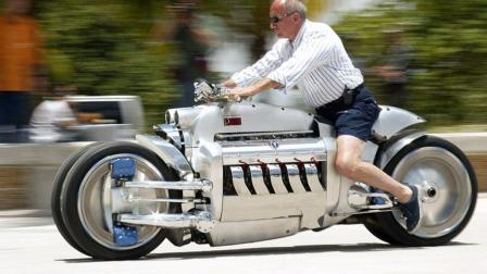 世界最快摩托车, 速度达高铁两倍, 没人敢挑战它的极速