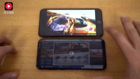 苹果三星s8plus对战iPhone7plus游戏体验