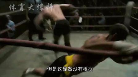 看看黑市拳魔王马库斯一腿有多硬, 飞身360度一腿把人踢飞险踢死