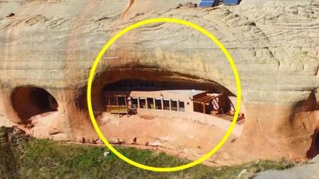 夫妇花费30年, 在山崖凿洞建豪宅, 被知名酒店看上欲天价收购