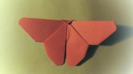 折纸教程第6集 蝴蝶