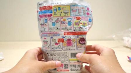 日本食玩heart出品diy布丁草莓蛋糕