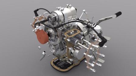 V2发动机视频教程
