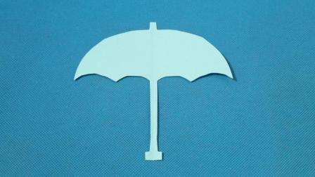 剪纸小课堂397: 雨伞3 儿童剪纸教程大全 亲子手工DIY教学 简单剪纸艺术 折纸王子