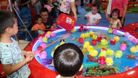 儿童钓小鱼比赛
