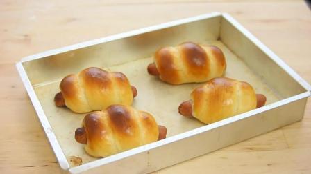 烘焙新手练习手册: 教你做非常好吃的肠仔包!