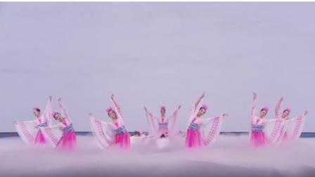 李玉兰汪洋舞蹈《披毡》