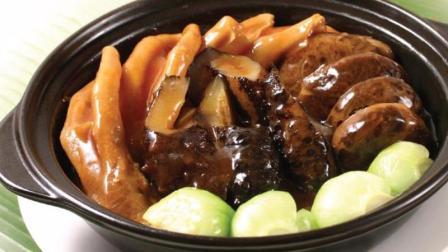 花菇鹅掌焖五花腩   汤汁浓郁  味道鲜