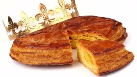 国王饼 法国人新年吃的甜点  酥软可口