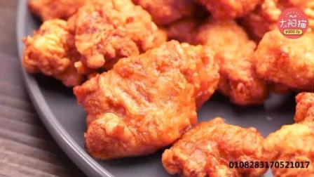 日本最正宗的炸鸡做法, 千万不要放面包糠和淀粉! 有诀窍!