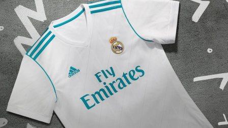 皇家马德里2017-18赛季主客场球衣