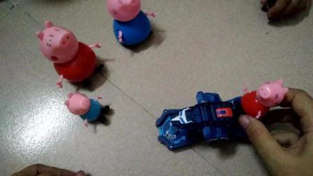 粉红猪小妹的派对新玩具和爆裂飞车绝地雄狮 北美玩具