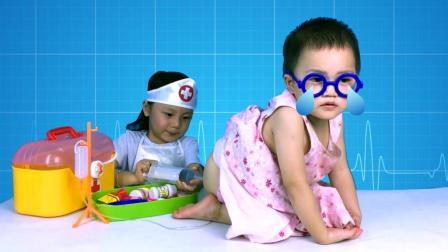 娃娃看病打针玩具