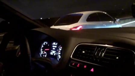 Polo GTI深夜高速厮杀西雅特 最高时速260km_h!